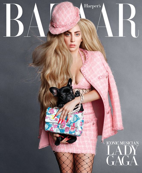Lady Gaga for Harper's Bazaar September 2014