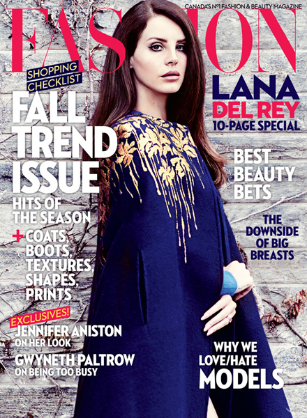 Lana Del Rey for Fashion September 2014