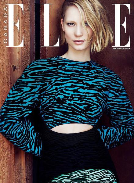 Mia Wasikowska for ELLE Canada 2014