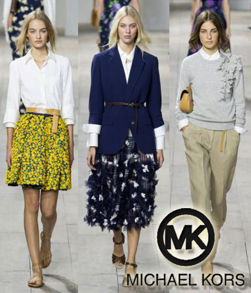 MIchael Kors Spring Summer Ready-To-Wear 2015 Fashion Week Collection