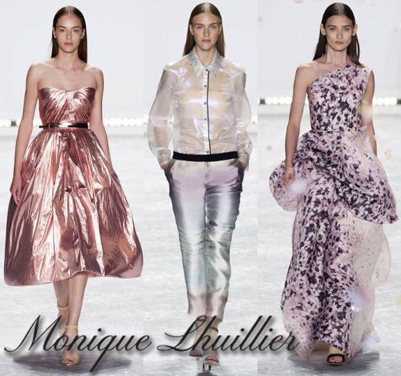 Monique Lhuillier Spring Summer Ready-To-Wear 2015 Fashion Week Collection