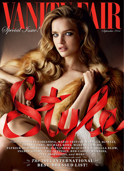 Natalia Vodianova for Vanity Fair September 2014