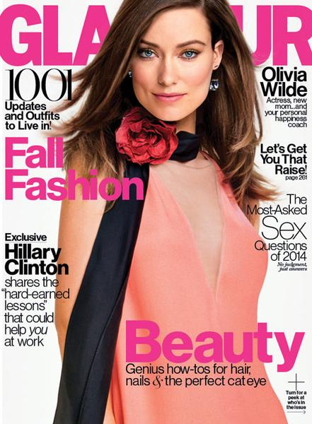 Olivia Wilde for Glamour September 2014