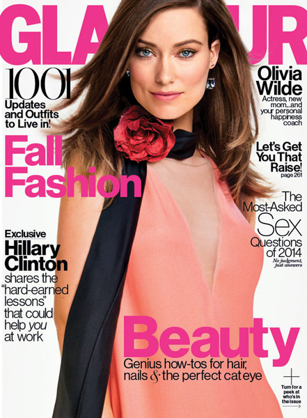 Olivia Wilde for Glamour September 2014