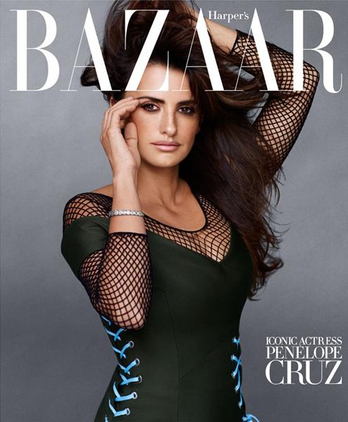 Penelope Cruz for Harper's Bazaar September 2014