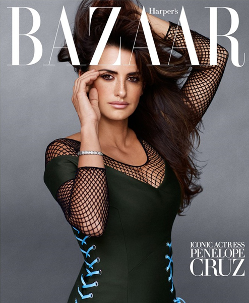 Penelope Cruz for Harper's Bazaar September 2014