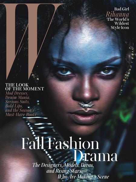Rihanna for W magazine September 2014-1