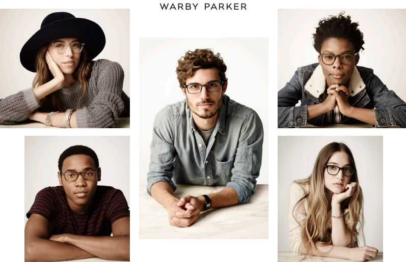 Warber Parker collection