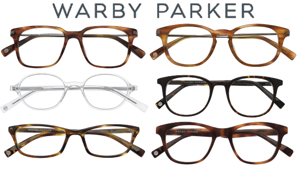 Warby Parker Fall Collection frames