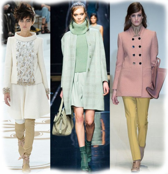 Chanel Fall 2014 Haute Couture, Ermanno Scervino & Gucci Fall 2014 Ready-To-Wear Collections.