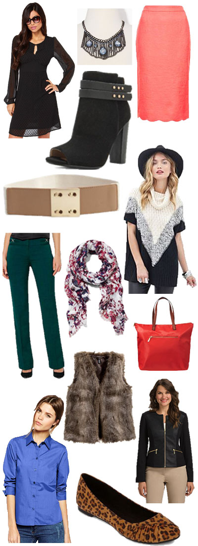 Olivia Palermo-inspired pieces.