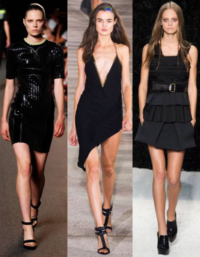 Alexander Wang. Anthony Vaccarello. Vera Wang. Spring 2015 Ready-To-Wear.