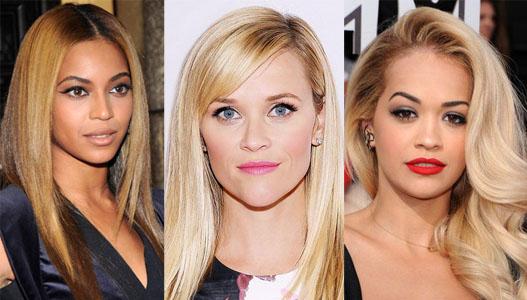 Beyonce, Reese Witherspoon, & Rita Ora.
