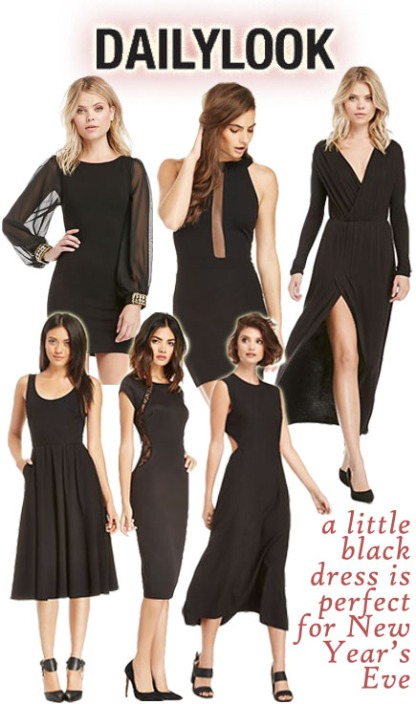 Daily Look. Little Black Dresses.