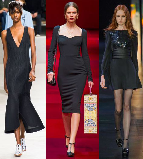 1d0fafe8 Dolce & Gabbana. Saint Laurent. Sprng 2015 Ready-To-Wear ...
