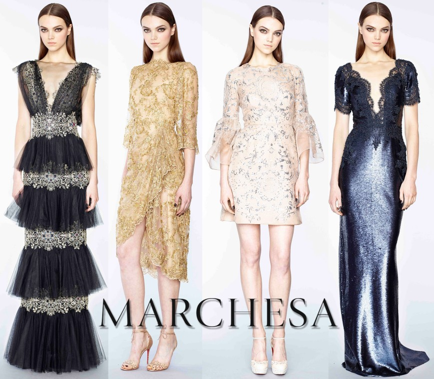 Marchesa Pre-Fall 2015 Collection