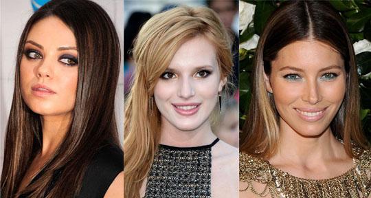 Mila Kunis, Bella Thorne, & Jessica Biel.
