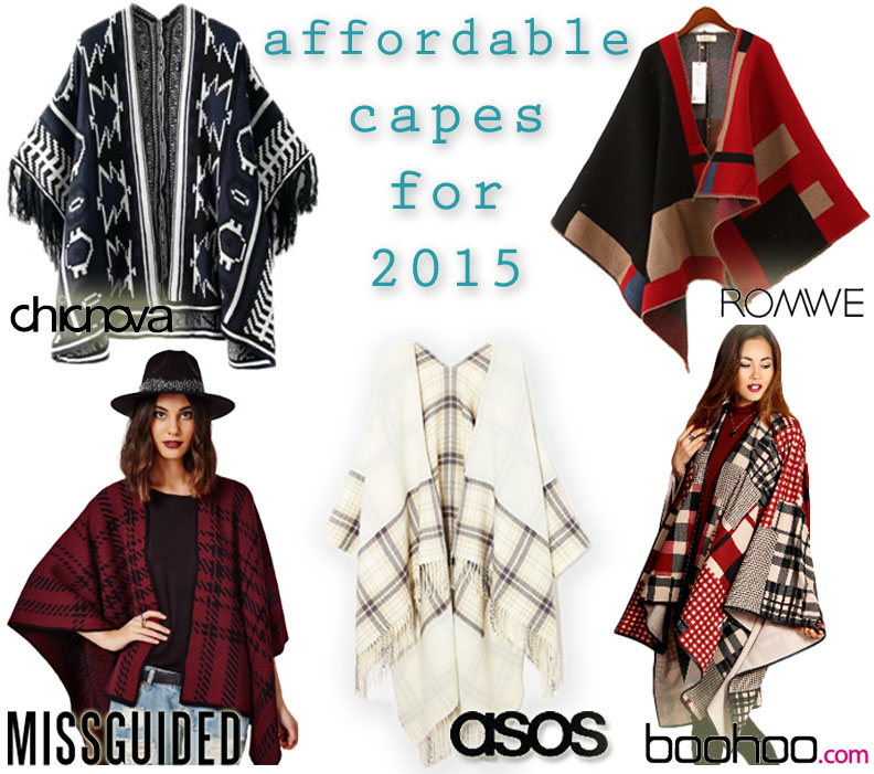 affordable capes for 2015