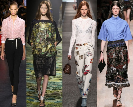 Altuzarra, Dries Van Noten, Louis Vuitton, & Valentino Spring 2015 Ready-To-Wear.