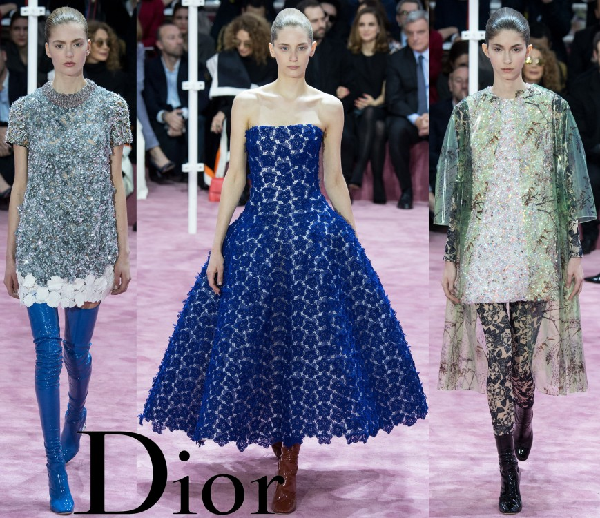 Christian Dior Spring 2015 Couture Collection