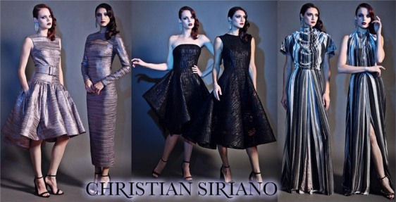Christian Siriano Pre-Fall 2015 Collection.