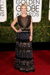 Claire Danes in a feathered & embellished Valentino gown.