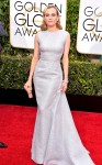 Diane Kruger in a pale blue gown by Emilia Wickstead with jewelry by KWIAT.