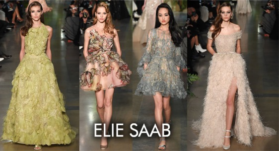 Elie Saab Spring 2015 Couture Collection.