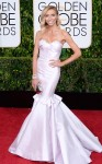 Giuliana Rancic in a white mermaid gown by Maria Lucia Hohan & jewelry by Forevermark.