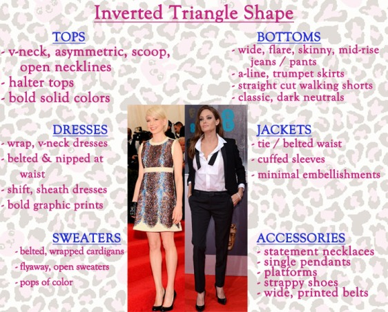 How to style an inverted triangle shape