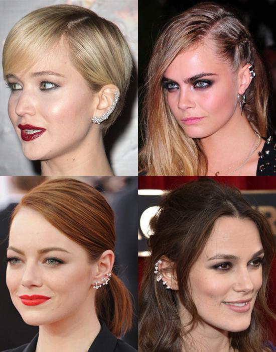Jennifer Lawrence, Cara Delevingne, Emma Stone, & Keira Knightley.