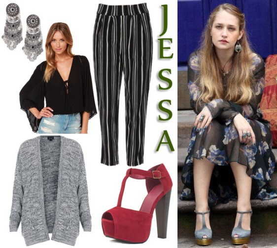 Jessa, played by Jemima Kirke on HBO's Girls.