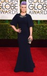 Kelly Osbourne in a navy Edition by Georges Chakra gown & Brian Atwood shoes.