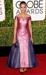 Kerry Washington in a multicolor Mary Katrantzou off-the-shoulder gown.