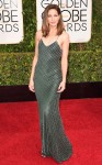Michelle Monaghan in a metallic Jason Wu slip dress.