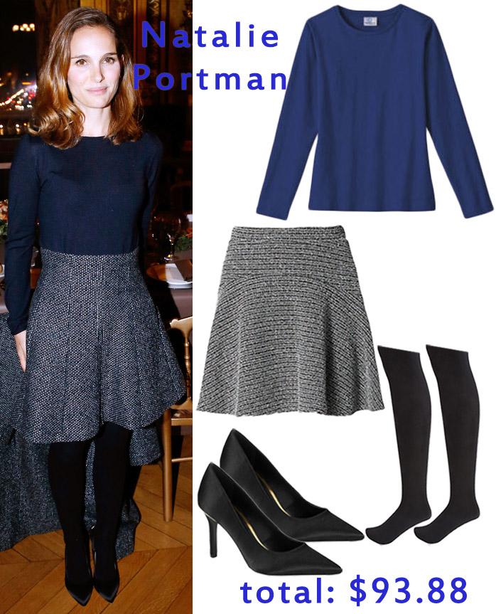 Natalie Portman in Dior.