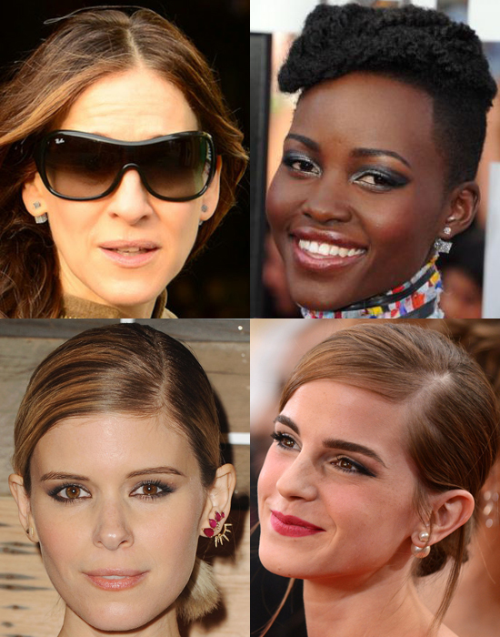 Sarah Jessica Parker, Lupita Nyong'o, Kate Mara, & Emma Watson.