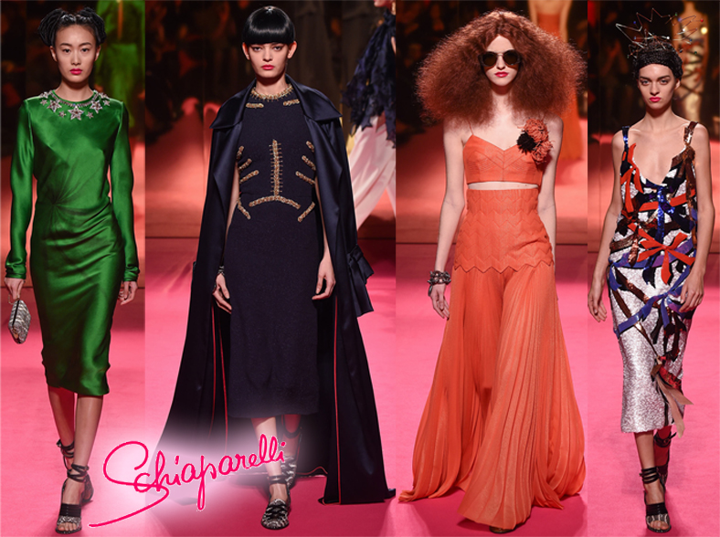 Schiaparelli Spring 2015 Couture Collection.