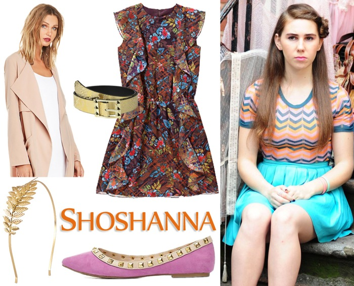 Shoshanna, played by Zosia Mamet on HBO's Girls.