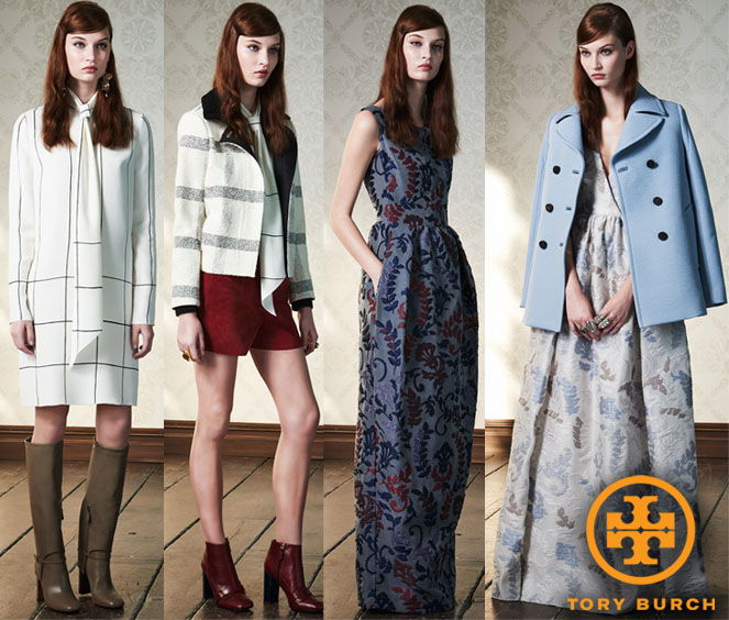 Tory Burch Pre-Fall 2015 Collection.