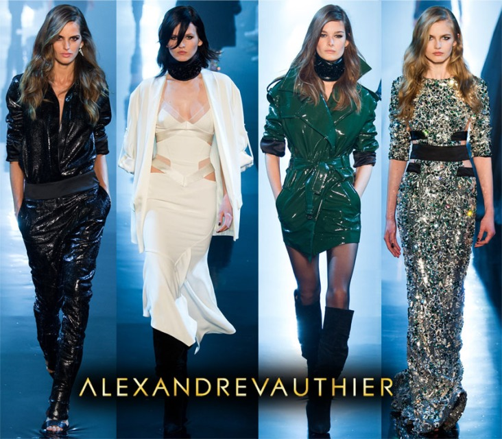 Alexandre Vauthier Spring 2015 Couture Collection.