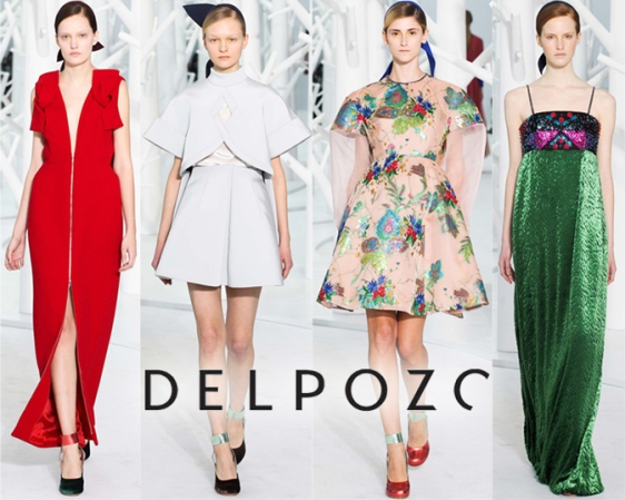 Delpozo Fall 2015 Ready-To-Wear Collection.