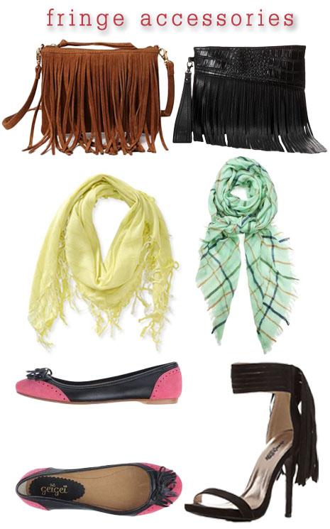 Fringe accessories