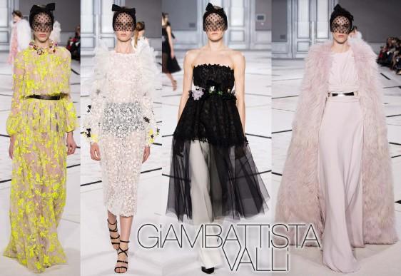 Giambattista Valli Spring 2015 Couture Collection.