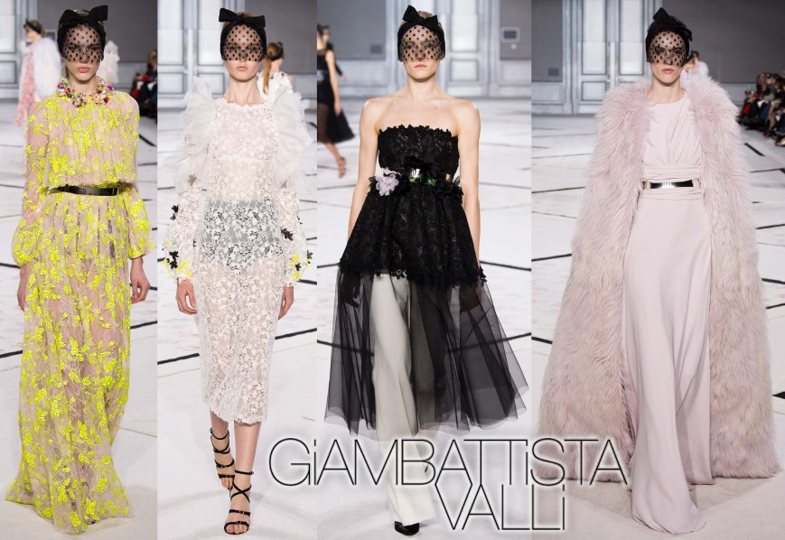 Giambattista Valli Spring 2015 Couture Collection.