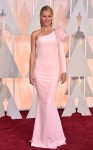 Gwyneth Paltrow in a pale pink flower embellished Ralph & Russo Couture mermaid gown.