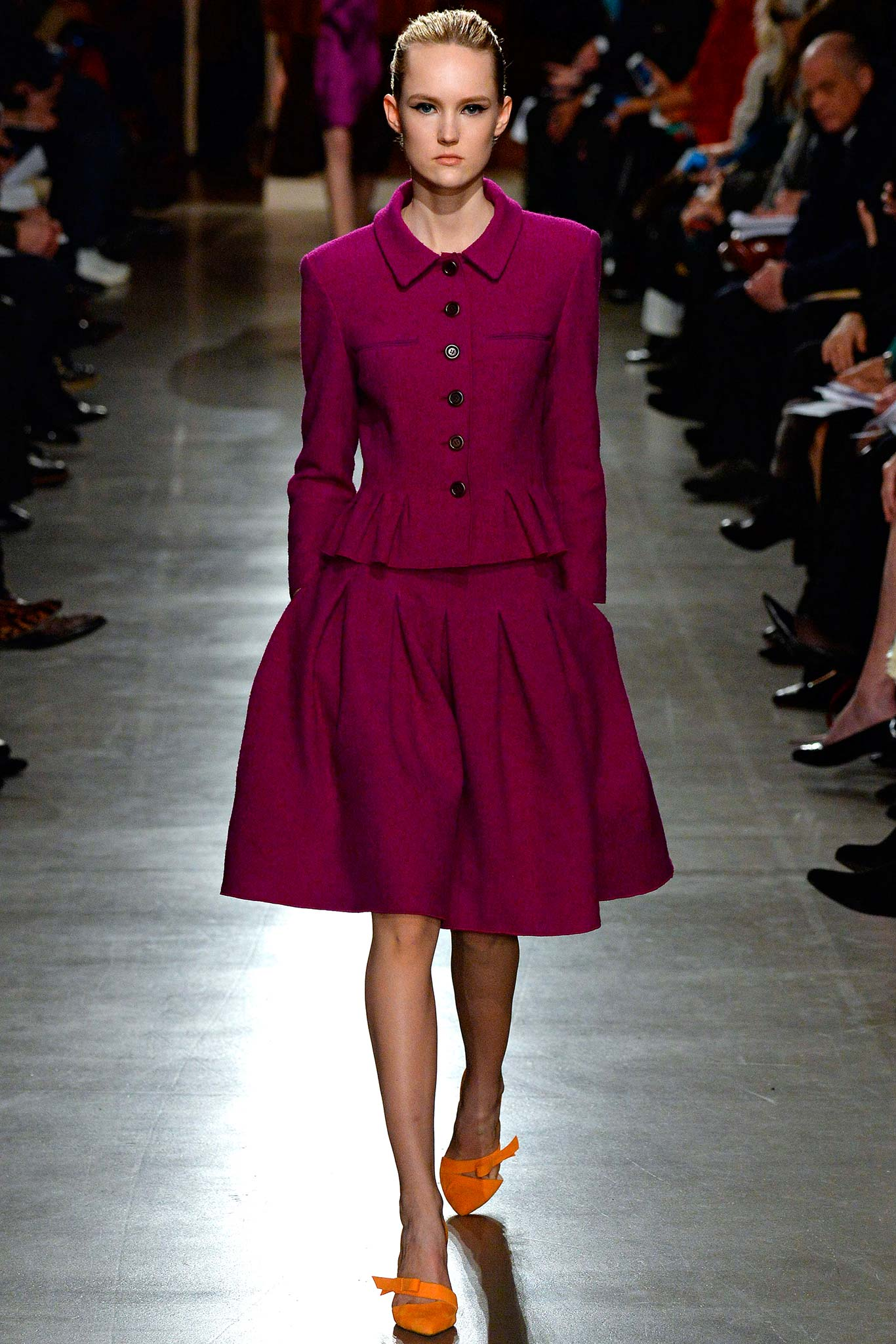Runway Rundown Oscar De La Rentas Fall 2015 Ready To