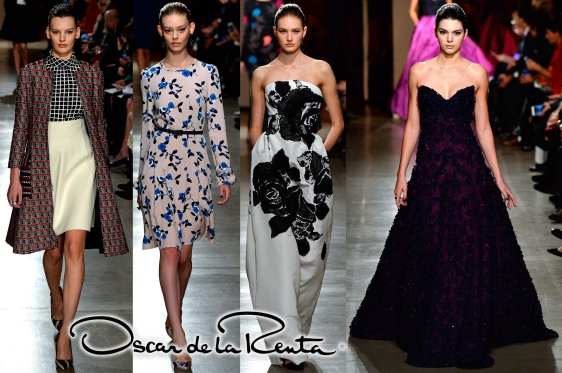 Oscar de la Renta Fall 2015 Ready-To-Wear Collection.
