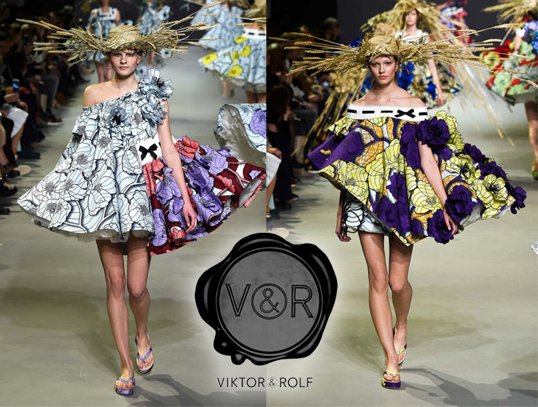 Viktor & Rolf Spring 2015 Couture Collection.