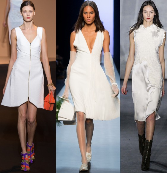 Roland Mouret Spring 2015 Ready-To-Wear, Jean Paul Gaultier Spring 2015 Couture, & 3.1 Phillip Lim Fall Winter 2015.